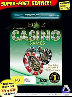 Hoyle 80 Card, Casino & Pokies Games (NEW) For PC Windows 7 XP computer software
