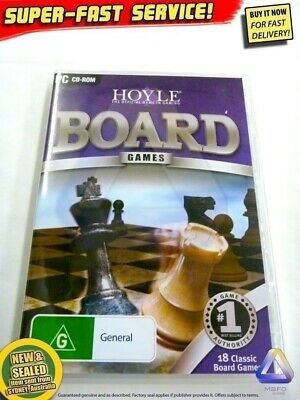 NEW Hoyle 18 board games for PC BONUS $29 GAME Windows computer software Mahjong