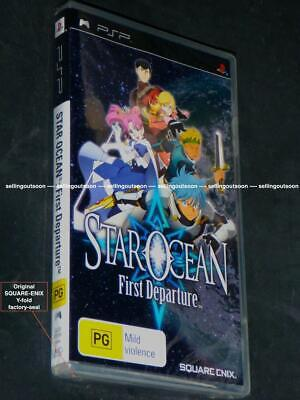 Star Ocean game for PSP *NEW RARE AUSSIE 1st Edn* First Departure Sony console 1