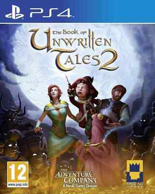 The Book of Unwritten Tales 2 PS4 game ✓NEW ✓PAL RPG Sony Playstation 4 Console