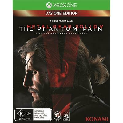 Metal Gear Solid V The Phantom Pain Xbox One console *NEW disc *AU Day 1 Edition