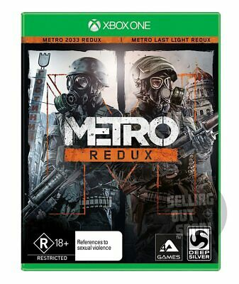 Metro Redux Xbox One NEW Aussie Game +DLC +10Hr Bonus War FPS Australian console