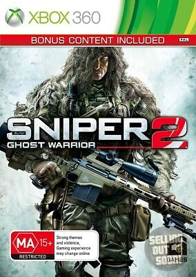 Sniper Ghost Warrior 2 (Xbox 360) ✓RARE AU ✓NEW ✓1st Press ✓Ltd Ed BONUS CONTENT