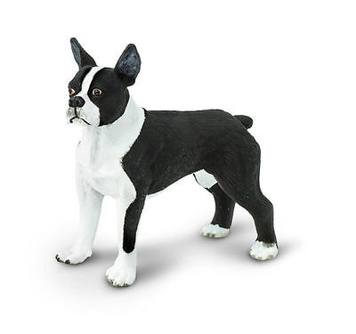 Boston Terrier Dog Toys Replica # 255029 FREE Fast SHIPPING/USA Safari