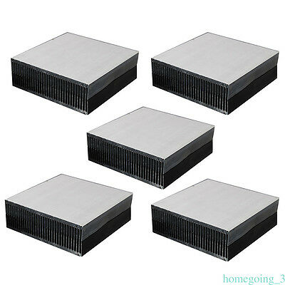 Aluminium Alloy Heat Diffuse Heat Sink Cooling Fin 90x90x15mm Radiator Cooling