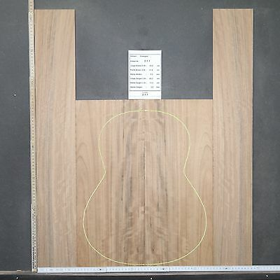 Tonewood Ovangkol 211 Figured Tonholz Guitar Builder Acoustic Backs Site & SET