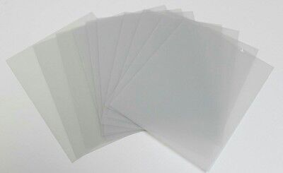 9 Sheets 4x6 .040 PETG, Clear Styrene/Plexiglass Replacement Picture Frame Glass