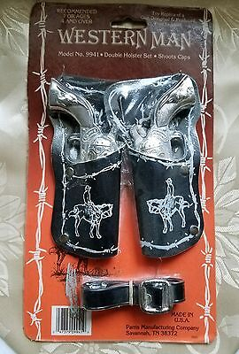 Smoky Western Man 9941 Vintage Western Parris Toy Cap Gun New SEALED In Package