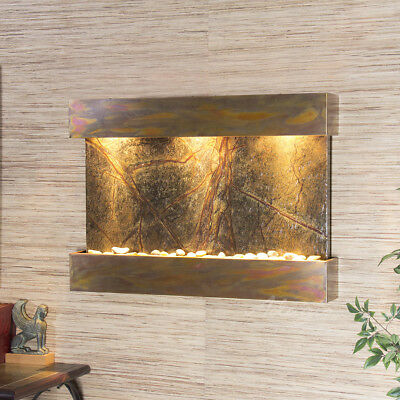 Reflection Creek Fountain - Rustic Copper - Choose Options