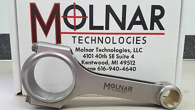 MOLNAR Chevy NASCAR Late Model Stock Billet H-Beam 6.000 Connecting Rods