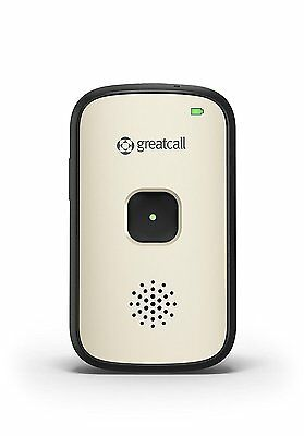 GreatCall Splash Waterproof One-Touch Mobile Medical Alert GPS Device Silver USA