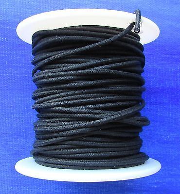 22 GAUGE VINTAGE STYLE CLOTH-COVERED WIRE NEW 25 FEET