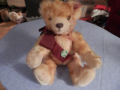 Herman Mohair Teddy Bear with Tages--Growler