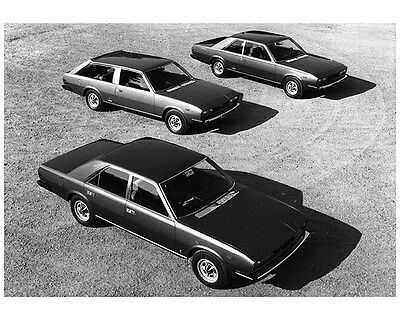 1974 Fiat 130 Pininfarina Factory Photo ca7688