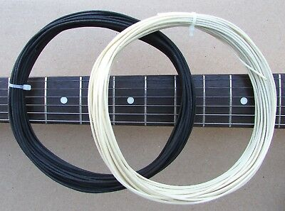 4 Feet GAVITT Cloth-Covered Pre-Tinned Pushback 22AWG Vintage-Style Guitar Wire
