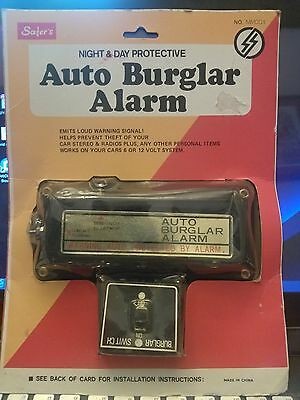 70s 80s Vintage Safer Accessory NOS Car Auto Burglar Alarm 6 and 12 Volt
