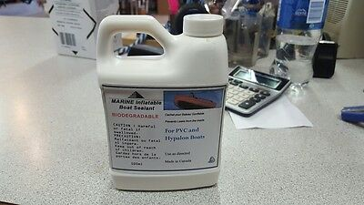 Marine Inflatable Boat Sealant - For Hypalon and PVC Dingy, Kayaks, Water Tubes