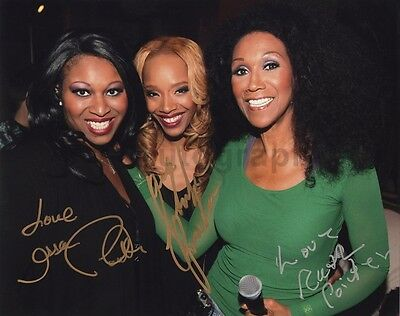 The Pointer Sisters - Classic R&B Group - Autographed 8x10 Photo Signed by 3