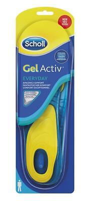 SCHOLL coppia solette GEL ACTIVE EVERYDAY Uomo sottopiede Pedicure