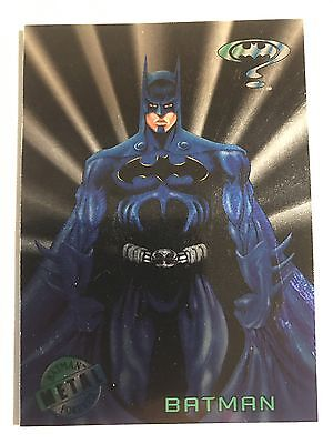 1995 DC Comics Batman Forever Metal Trading Card #1 Batman