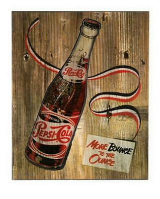 New Vintage Pepsi-Cola MDF & Resin Wall Decor - 3D - Great Gift