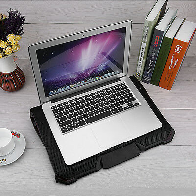 Laptop Cooling Fan Pad Cooler Mat for 13 15 inch Gaming Notebook With USB Hub AF