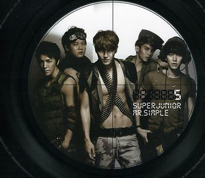 Super Junior - Mr Simple [B Version] New Cd