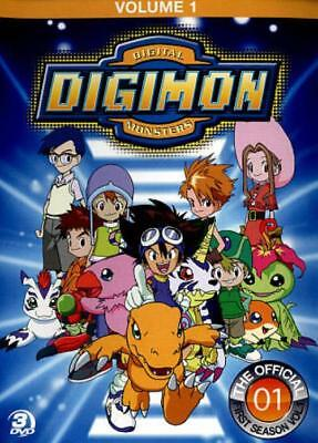 Digimon: Digital Monsters - The Offical First Season, Vol. 1 New Dvd