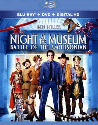 Night At The Museum: Battle Of The Smithsonian New Blu-Ray/dvd