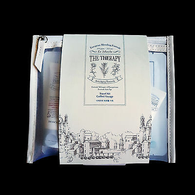 Thefaceshop The Therapy Travel Kit  Anti-Aging Moist Skincare + Cleanser + Mask
