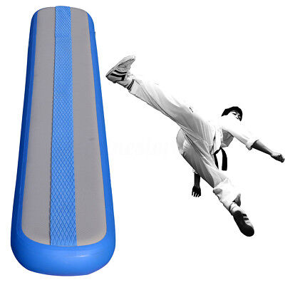 NEW Inflatable GYM Mat Air Track Floor Tumbling Gymnastics Practice Training Pad