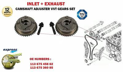 For Bmw 11367545862 11367536085 Inlet + Exhaust Camshaft Vvt Hub Gears (2)