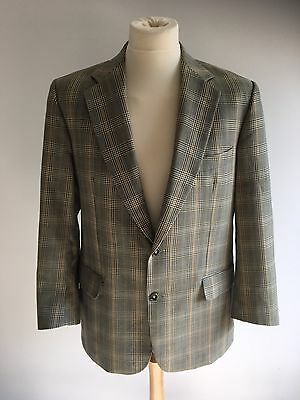 "Vintage Burberry Check Lightweight Jacket Blazer - 44"" Chest"