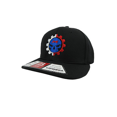 Miken Psycho Hat by Richardson PTS40  All Black/White & Red/Blue/Red LG/XL