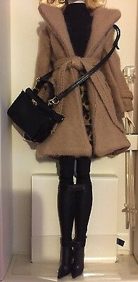 Barbie Silkstone Fashion Outfit Only The Camel Coat No Doll