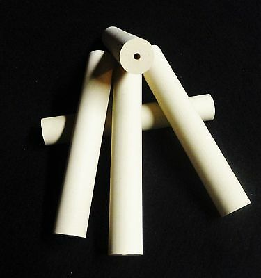 "6.125"" LONG X 0.975"" O.D.  HIGH PURITY DENSE CORDIERITE TUBE INSULATOR No.: 344"