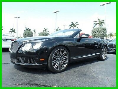 2014 Bentley Continental GT Speed 2014 Speed Used Certified Turbo 6L W12 48V Automatic AWD Premium