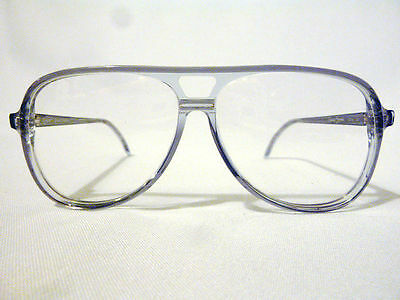 Vintage Regency Eyewear Cobra Grey Crys 59/12 Men's Eyeglass Frame New Old Stock