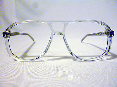Vintage Regency Eyewear Harry O Crystal 56/15 Men's Eyeglass Frame NOS