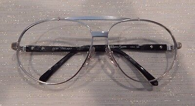 Vintage Regency Eyewear DLM1 Twilight 64/14 Aviator Eyeglass Frame New Old Stock