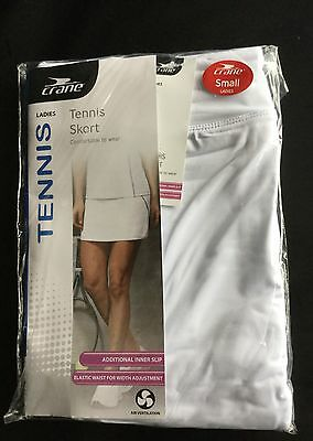 Ladies White Tennis Skort size Small or Medium