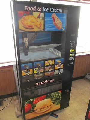 Fastcorp Frozen Food & Ice Cream Lunch Vending Machine 12 Selection Model F631