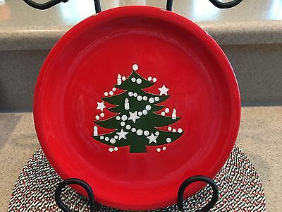 """Waechtersbach Christmas Tree 10"""" Dinner Plate**Excellent Condition**6 Available"""