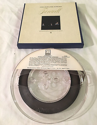 Reel to Reel 3 3/4 IPS 4 track Diana Ross and the Supremes Farewell Tested MINT