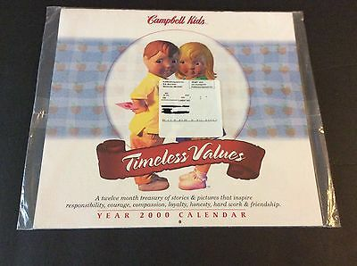 Campbell's Soup Company CAMPBELL KID Calendar 2000 Timeless Values