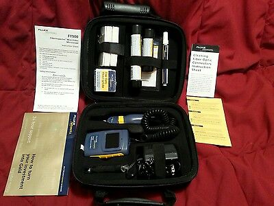 Brand New Fluke Networks Ft 525 Fiber Optic Kit