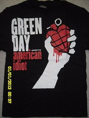 Greenday - Presents American Idiot - Rock Band Round Neck T-Shirts 100% Cotton
