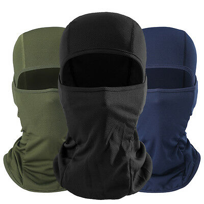 Multicam Balaclava Tactical Motorcycle Military Army Hunting Ski Full Face Mask