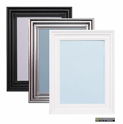 Photo Frame Picture Poster Wall Decor Collage Hanging Black White Swept Frames