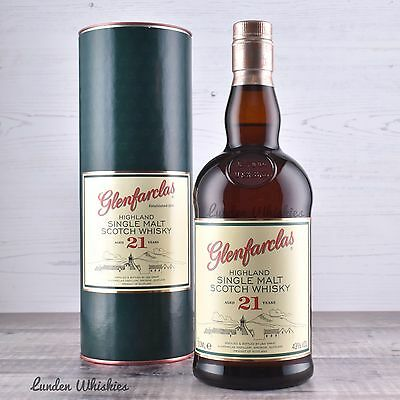 Glenfarclas 21 Year Old Single Malt Scotch Whisky 700ml